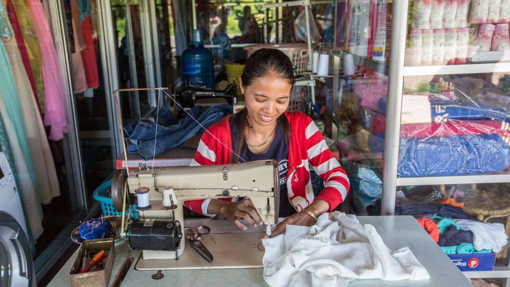 Cambodia's economy is expected to remain strong over the next couple of years partly driven by solid garment and footwear exports.