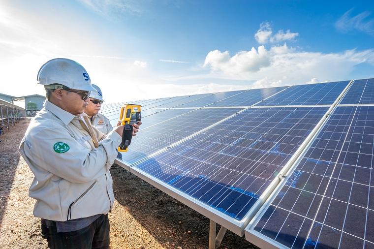 Thailand's Sunny Bangchak Solar Farm